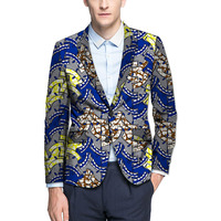 African print men balzers custom made dashiki clothes fashion design african print suit coat tailor made africa clothing