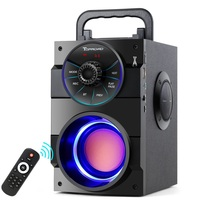 TOPROAD Portable Bluetooth Speaker Wireless Stereo Big Powerful Subwoofer Bass Speakers Boombox Support FM Radio TF AUX USB