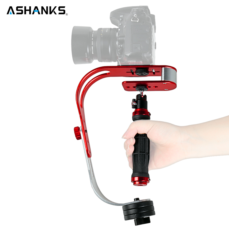 Steadycam estabilizador de vídeo de mano Digital Compact Camera Holder movimiento Steadicam para Canon Nikon Sony Gopro héroe teléfono DSLR DV