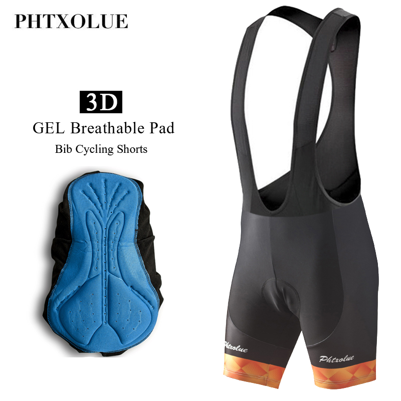 Phtxolue 2019 Cycling Bib Shorts Summer Coolmax GEL Breathable Pad Bike Tights MTB Moisture Wicking Bicycle Shorts/Ropa CiclismoPhtxolue 2019 Cycling Bib Shorts Summer Coolmax GEL Breathable Pad Bike Tights MTB Moisture Wicking Bicycle Shorts/Ropa Ciclismo