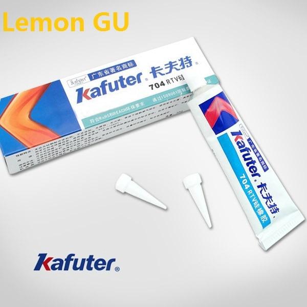 1pc 45g Kafuter 704 RTV Silicone Rubber White Glue Silicone Industrial Adhesive