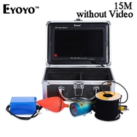 Eyoyo 15M 1000TVL Fish Finder Fishing Camera Monitor With Sun Visor Infrared IR LED