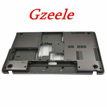 """GZEELE New For Toshiba P870 P875 P870D Lower 17.3"""" Bottom Base Case Cover Laptop Replacement V000280310 Gray without TV hole"""