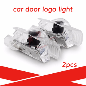 2PCS Led Car Door Light For Land Cruiser Prado HighLander Camry Prius Crow REIZ Toyota Logo Laser Projector Light Accessories(China)