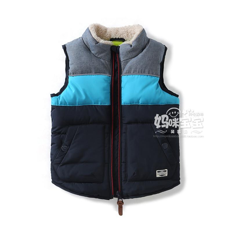 New 2019 children's winter jackets kids clothes boys warm vest coats baby boys casual cotton vest waistcoat