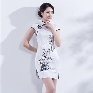 659666674adc8 DIDUQIPAO White Vintage Women Summer Floral Dresses