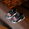 hot Mesh Breathe Children Sport Shoes Girls Boys Cartoon Spider Man Shoes Kids Sneakers Soft Light Comfort Running Shoes