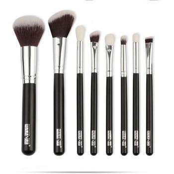 5819b8c3f 8 piezas cepillo cosmético del maquillaje colorete de sombra de ojos de los  cepillos conjunto Kit