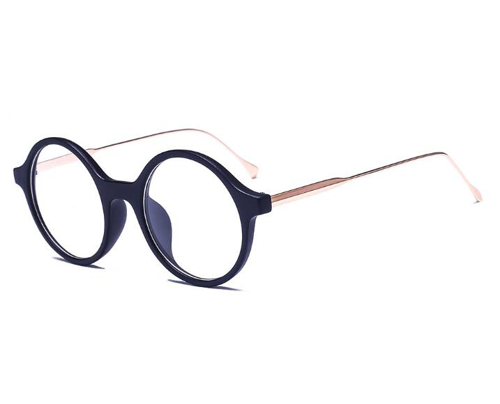 Women round Eyeglasses Fashion Myopia Optical Computer Glasses Frame Brand Design Plain Eye glasses oculos de grau femininos