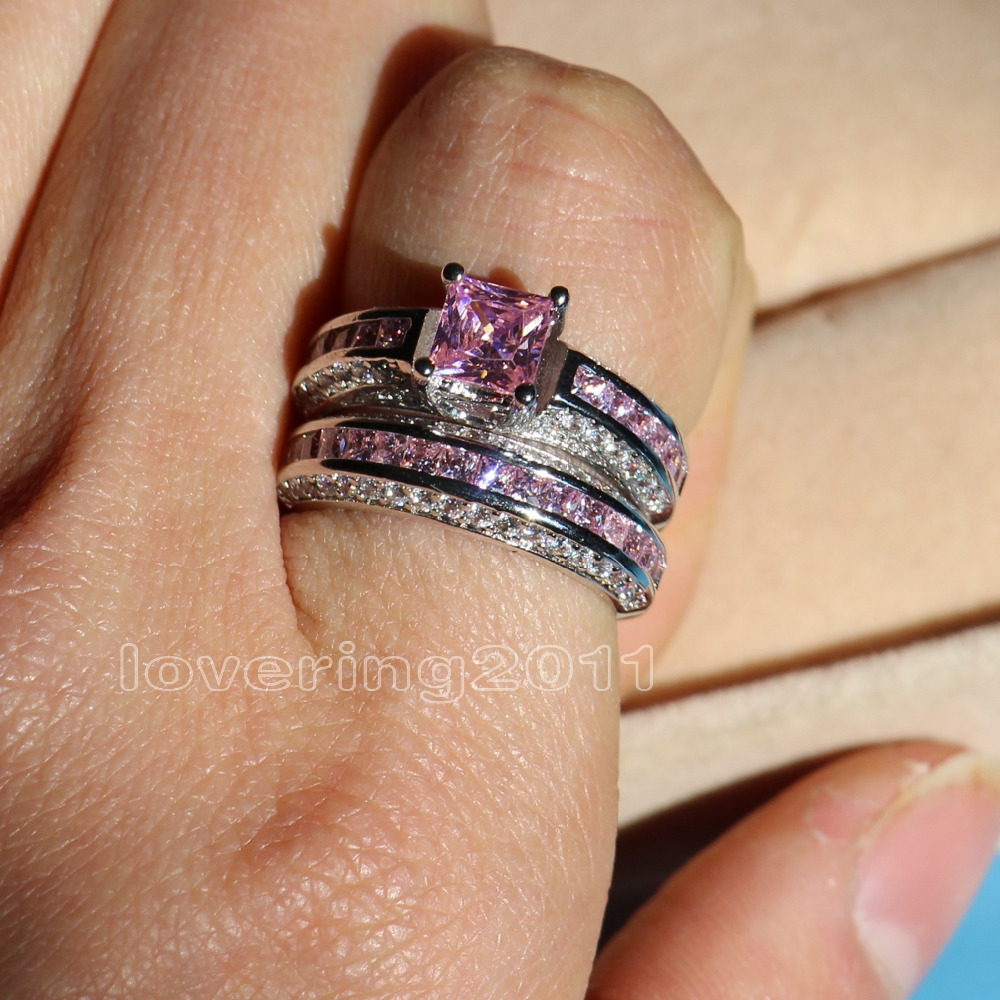 raw rough uncut conflict free pink diamond wedding band 14k rose gold wedding ring pink diamond wedding band Raw Rough Uncut Conflict Free Pink Diamond Wedding Band 14k Rose Gold Wedding Ring