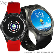 "Android smart watch reloj smartwatch 3g dm368 1.39 ""amoled pantalla quad core bluetooth 4.0 monitor del ritmo cardíaco vs lf16"