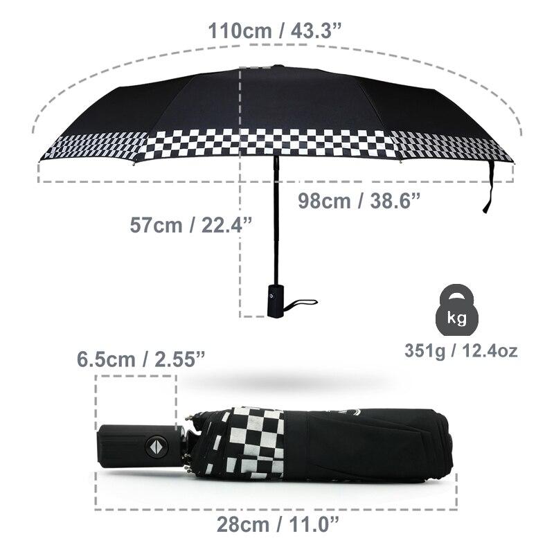 Car Automatic Umbrella For BMW Mini Cooper R59 60 Clubman Paceman Countryman S JCW F54 R57 R58 F56 F57 Accessories