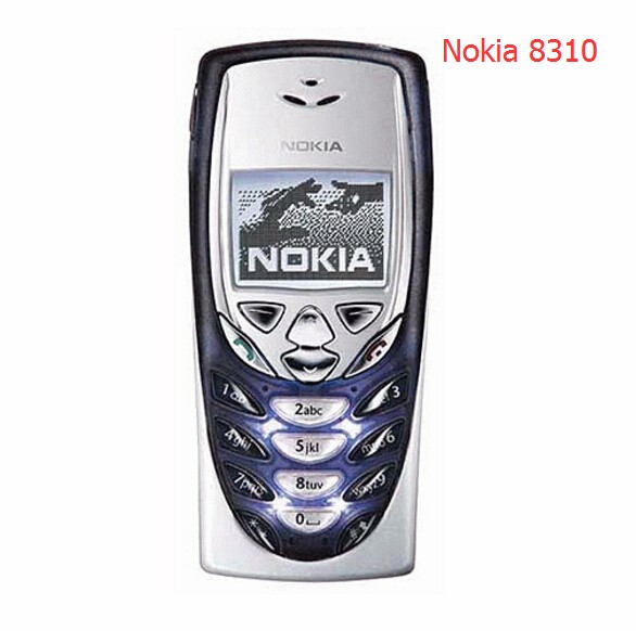 Refurbished phone Hot Sale Nokia 8310 Mobile Cell Phone 2G GSM 900/1800 Unlocked 8310 Free shipping red 2
