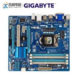 Gigabyte GA Z77M D3H płyta główna pulpitu Z77M D3H Z77 LGA 1155 rdzeń i7 i5 i3 DDR3 32G SATA3 USB3.0 hdmi vga DVI micro atx w Płyty główne od Komputer i biuro na