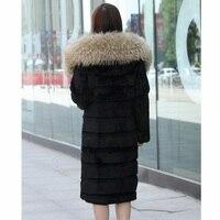 Мода сборную женские зимние 2018 новый искусственной искусственная пальто с мехом замшевые пальто Женская мода длинные Размеры S 6XL пальто с м