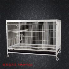 Cheap pet kitty cat three large double cage small dog breeding cages