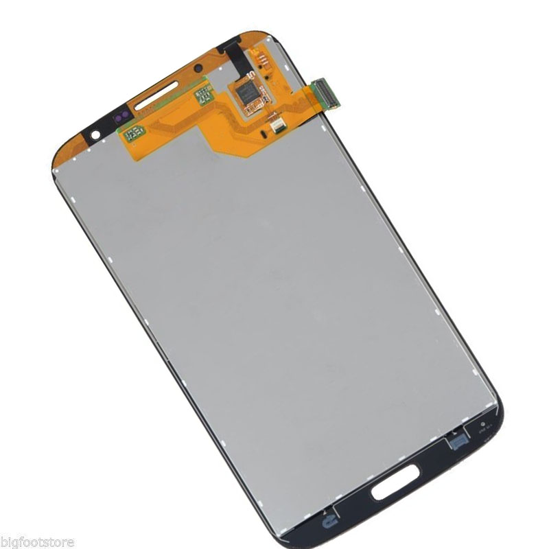 2 Color For Samsung Galaxy Mega 6.3 i9200 i9205 Full Touch Screen Digitizer Sensor Glass + LCD Display Panel Monitor Assembly