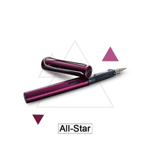 High Quality Fashion Design Lamy All-Star Ink Fountain Pen Purple Color Brand Fountain Writing Gift Pen
