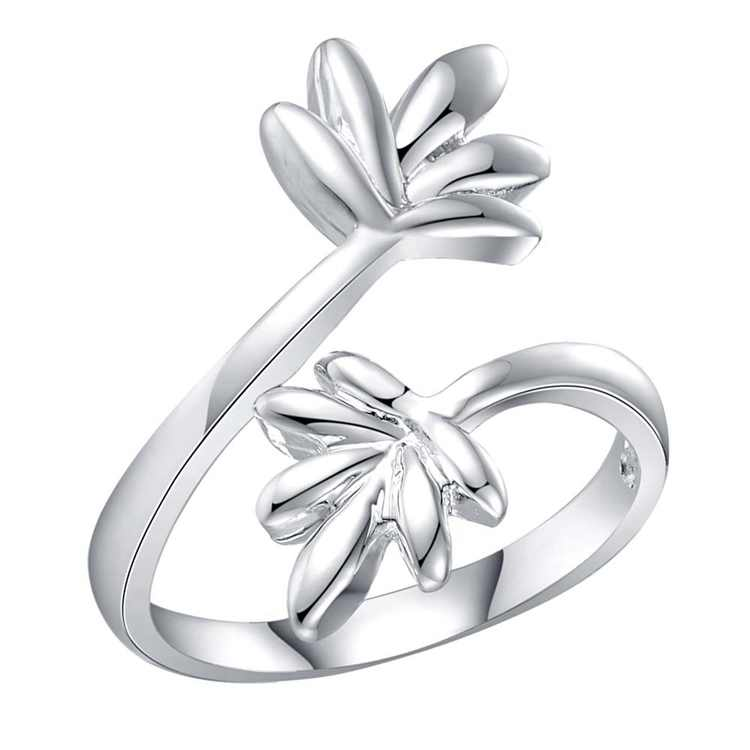 Fashion Jewelry Rings New Hot Silver Wedding Gifts Wholesale rings WAR204