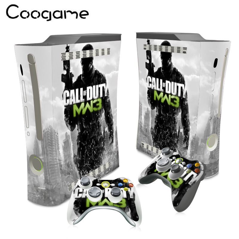 Mw3 Stickers For Microsoft Xbox 360 Fat Conslole Call Duty Skins