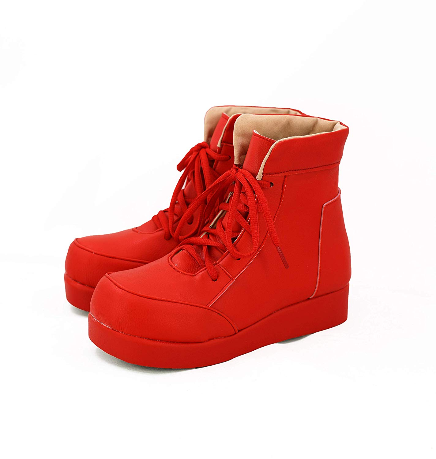 Red Blood Cell Shoes Cosplay Anime Cells at Work Red Blood Cell Cosplay Boots Red Shoes Custom Made Any Size|Shoes| - AliExpress