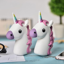 emjoy power bank Kiss Smile tears demon Unicorn Cartoon powerbank 2600mah External charger battery for android