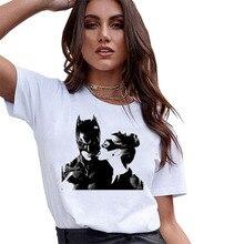 FIXSYS New Summer Women T-shirt Tops Funny T-shirt Fashion Cool Tshirt Tees Graphic Tee Short Sleeve T-shirt White Tee Shirt цены