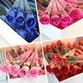 5pcs Bath Body Artificial Flower Soap Rose Wedding Party Decor Valentines Gift