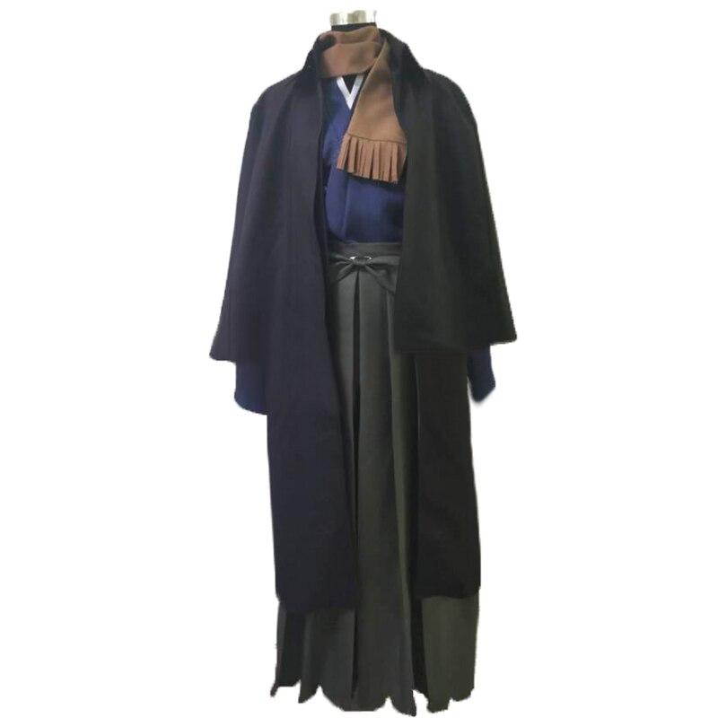 Costume de Cosplay d'okada d'assassin de FGO de Grand ordre de destin avec la cape