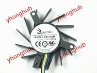 Emacro For ROTEK GB51B2M PFTA DC 12V 0.15A 4 wire Server Cooler Fan