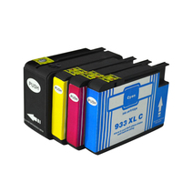 4pcs Luocai For HP932 933 Ink Cartridges 932XL 933XL OfficeJet 6100 6600 6700 7110 7610 7612