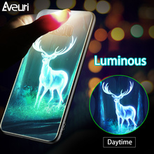 Luminous Glass Case For Samsung Galaxy N