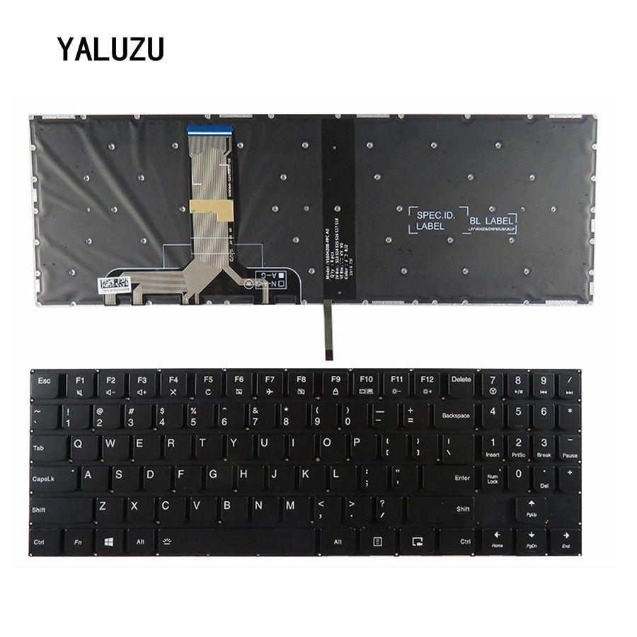 New US keyboard for Lenovo Legion Y520 Y520-15IKB R720 Y720 Y720-15IKB US laptop Keyboard Backlit No Frame new us keyboard for acer aspire vn7 793g vx5 591g vx5 591g 52wn us laptop keyboard with backlit