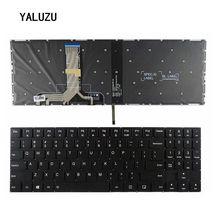 Nowa amerykańska klawiatura do Lenovo Legion Y520 Y520 15IKB R720 Y720 Y720 15IKB amerykańska klawiatura do laptopa podświetlana bez ramki