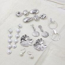 Statement Pearl Earrings For Women Gold/Silver Color Luxury Earring Handmade Indian Earrings Shell Jewelry цена