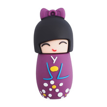 Cute Japanese Girl Kimono usb flash drive 4g 8g 16g 32g 64g