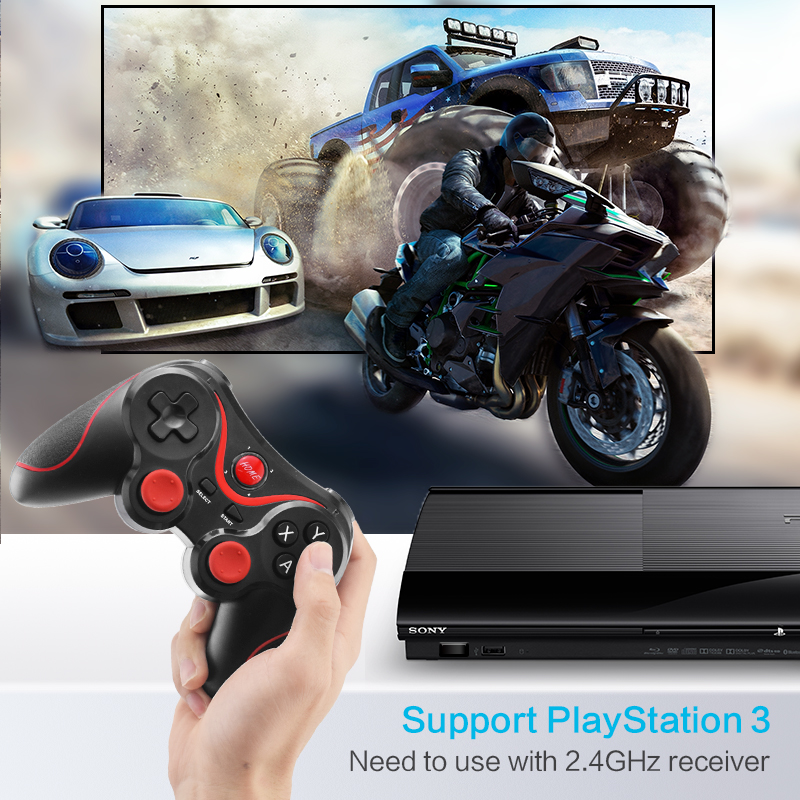 Wireless Bluetooth Gamepad Support Official App Game Controller For iPhone Android Smart Phone For PS3 PC TV Box 9