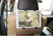Asiento Trasero del coche Reposacabezas Titular de Montaje Para el ipad 2 3/4 Aire 5 Aire 6 ipad mini 1/2/3 AIRE Tablet SAMSUNG Tablet PC Stands
