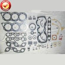 VG30E J30 Двигатели для автомобиля полный комплект прокладок набор для Nissan Navara D21/maxima/Pathfinder/300 ZX 3.0L 2960cc 1984-1996 50179200 10101-85E25