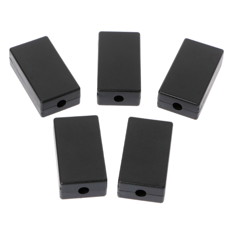 5Pcs New Plastic Electronic Project Box Enclosure Instrument Case DIY 48x26x15mm