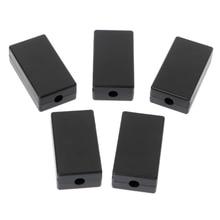 5Pcs New Plastic Electronic Project Box Enclosure Instrument Case DIY 48x26x15mm