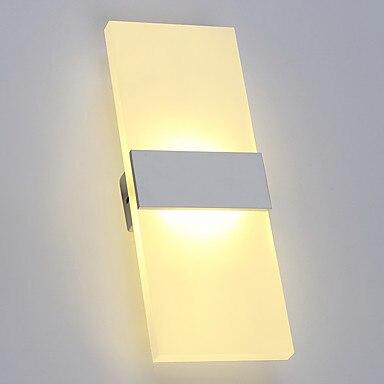 Acryl Eenvoudige Moderne LED Wandlamp Home Verlichting Badkamer ...