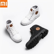 Xiaomi GOODYEAR scarpe di tela resistente Allusura stivali Da Lavoro di linee sottili uomo donna di Alta top scarpe di tela di Liberazione scarpe outdoor scarpe