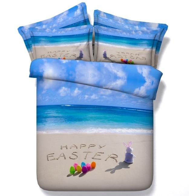 Free Shipping 4pcs Shell Pearl Beach Wall Painting Print: Online Get Cheap Beach Themed Bedding -Aliexpress.com