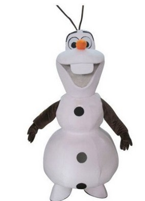 cosplay costumes Adult New Olaf Mascot Costume Snowman Clothing Christmas Party Suit