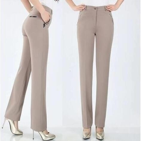 Dv239 2019 Pantalones Cintura De Elástico Alta Mejor Mujer PpPwq0x