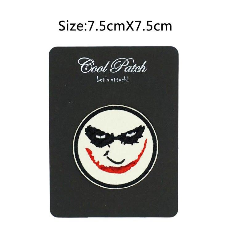 Joker Suicide Squad Iron On Patch Smile Batman Serious