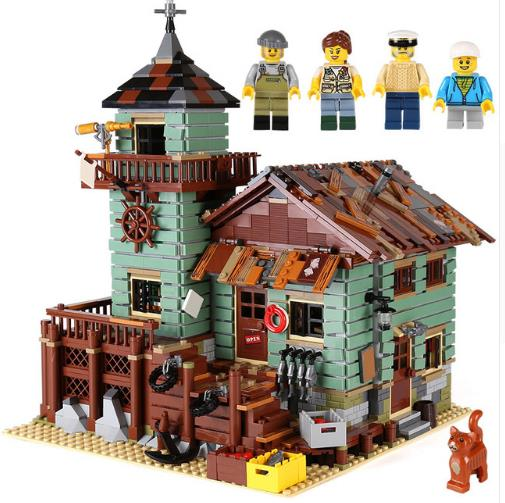 New Legoe 16050 MOC Series The Old Finishing Store Children Educational Building legoing 21310 Blocks Bricks Toys Model 2294pcs moc series the old finishing store children educational model building blocks bricks toys for kids compatible legoings