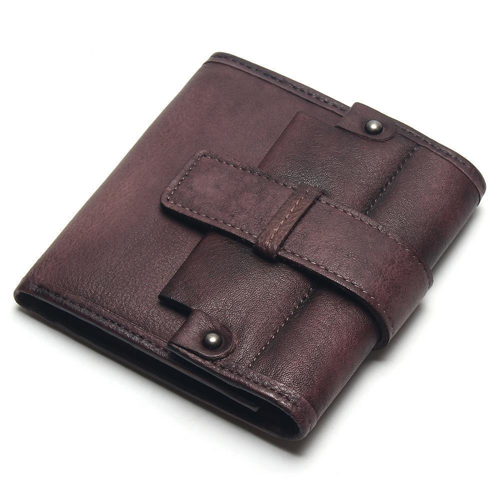 Fashion Men Genuine Leather Wallet Short Purse High-capacity Business Clutch Bag Billfold Card Holders Carteira Masculina ivotkova top quality cow genuine leather men wallets fashion splice purse dollar bag price carteira masculina free shipping gift