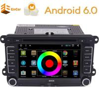 Canbus Android 6 0 Double Din Car Stereo Headunit GPS Navigation For VW 7 Car DVD